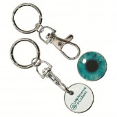 Trolley Token Key Rings