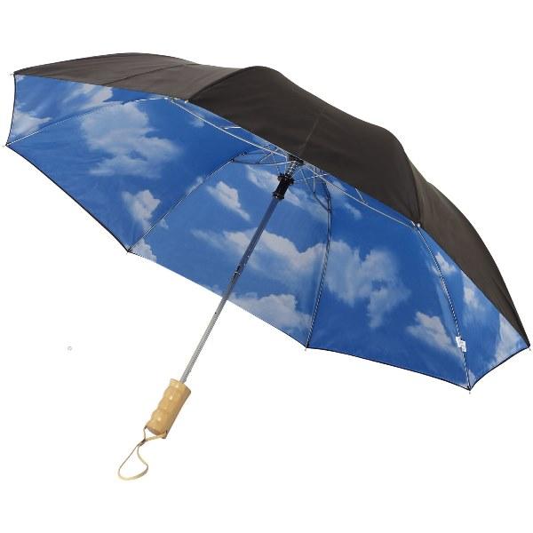 Blue-Skies 21'' Foldable Auto Open Umbrella