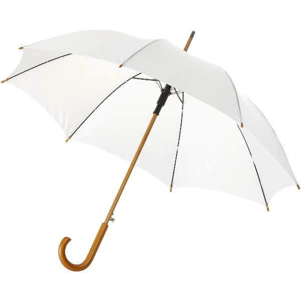 23'' Auto Open Umbrella Wooden Shaft and Handle