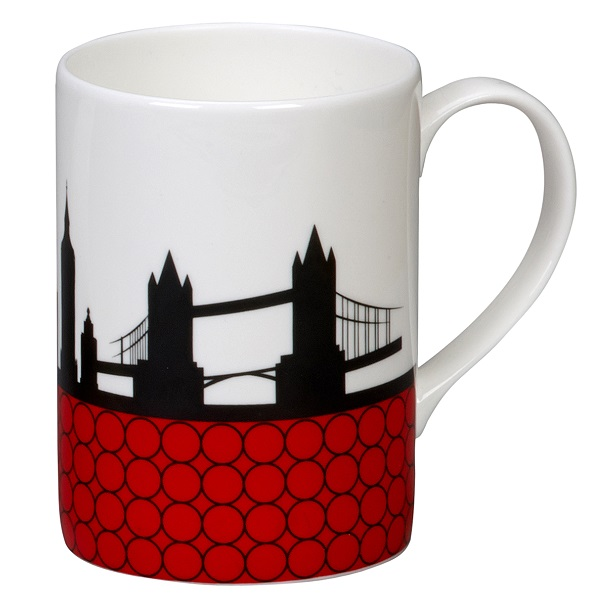 Can Bone China Mug
