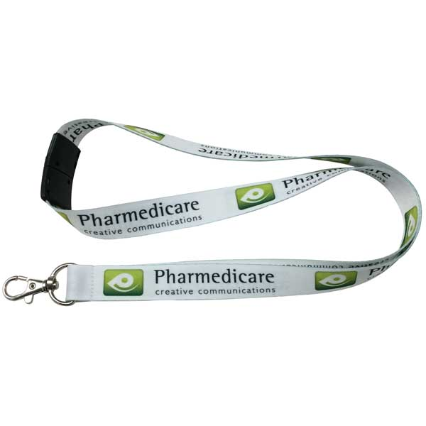 Express 20mm Smooth Polyester Lanyard