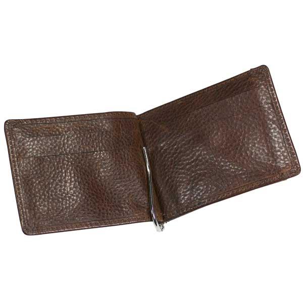 Ashbourne Leather Money Card Case