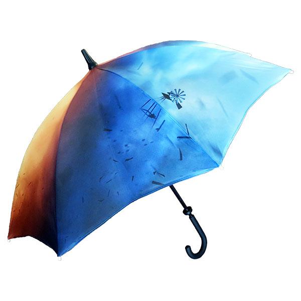 Spectrum Medium Walking Umbrella - Full Sublimation
