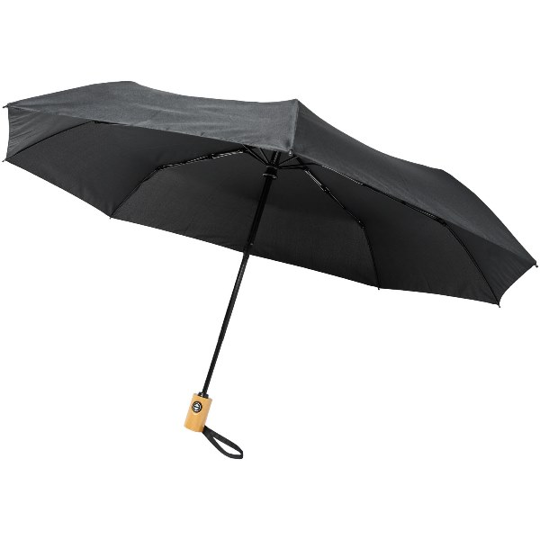 Bo 21'' Fold. Auto Open/Close Recycled PET Umbrella