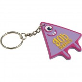 Soft PVC Keyring (30mm: Moulded Up To 4 Spot Colours)