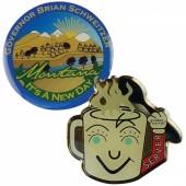 Printed Steel Badge (15mm)