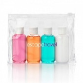 Weekend Travel Toiletry Gift Set in a PVC Bag