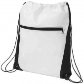 Contrast Non-Woven Drawstring Backpack