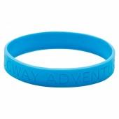 Silicone Wristband (Child: Recessed Design)