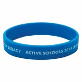 Silicone Wristband (Child: Recessed & Infilled Design)