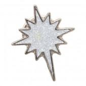 Stamped Iron Soft Enamel Metal Badge (15mm)