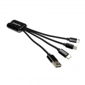 Electric Gifts Light Up Multi Cable Charger