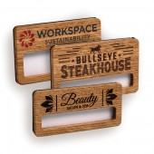 Wood Window Badge