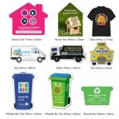 Fridge Magnet Recycling Box