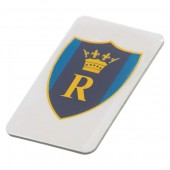 Printed Aluminium Badge (25mm)