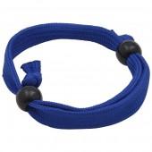 10mm Tubular Polyester Wristband (With Plastic Adjuster Beads)