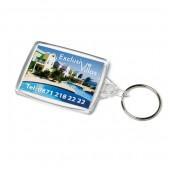 Acrylic Passport Keyfob 41x61mm