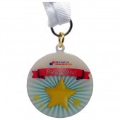 50mm Medal Printed Full Colour (1.2mm)