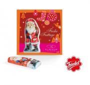 Premium Card Chocolate Santa Claus