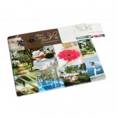 Armadillo Business Card Mat