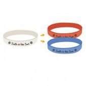 UV Debossed Silicone Wristbands