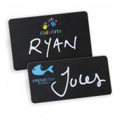 Reusable Blackboard Name Badge