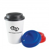 Plastic Double Wall Take Out Coffee Cup (12oz/340ml)