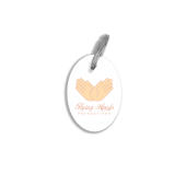 DELUXE Keyring Oval Shape