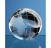 Optical Globe Paperweight