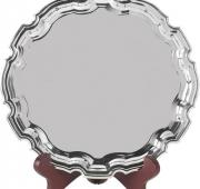 10 inch Nickel Plated Salver
