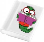 Book Shaped Eraser FC