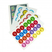 PCL Paper Stickers 64mm Dia