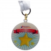 40mm Medal Printed Full Colour (1.2mm)