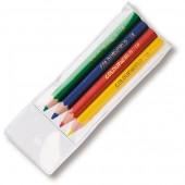 Colourworld Half Length Pencils WLT 4