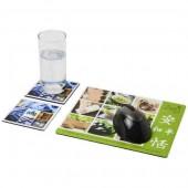 Q-Mat® Mouse Mat and Coaster Set Combo 3