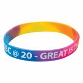 Silicone Wristbands (Child: Multicoloured Material)