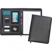 Goudhurst A4 Zipped Bonded Leather Tabletfolio