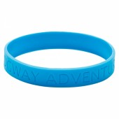 Silicone Wristband (Adult: Recessed Design)