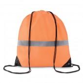Stripe Drawstring Bag