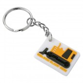 Soft PVC Keyring (40mm: Moulded Up To 4 Spot Colours)