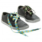 Flat Polyester Shoe Laces (Full Colour)