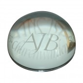 Printed Glass Paperweight