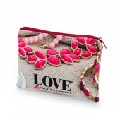 Cosmetic and Toiletry Bag Flood Print