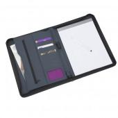 Sorrento A4 Zip Round Folder