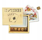 Games Wooden Box